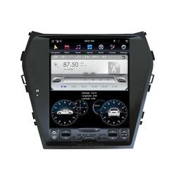 Магнитола для Hyundai Santa Fe (2013-2018) Android 9.0 4/64GB  IPS DSP стиль Tesla  модель ZF-1157-DSP