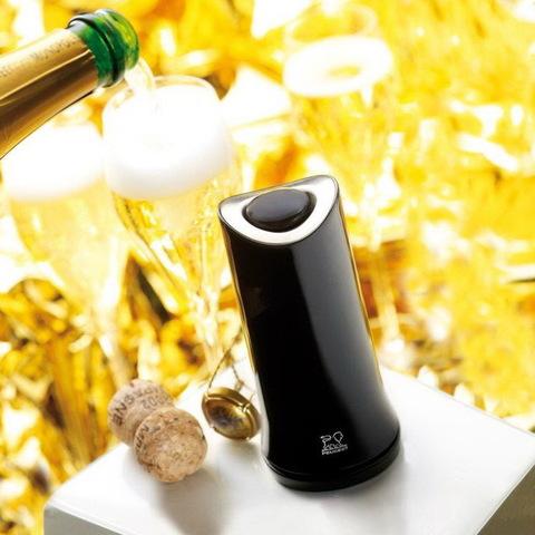 Штопор для игристых вин, артикул 200343, цвет Noir, Серия Reno