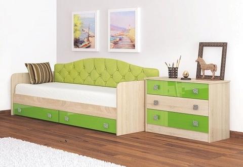 Кровать-Колибри СП-16 Лайм