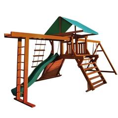 Детская площадка «Солнышко 8-1.50м» с рукоходом