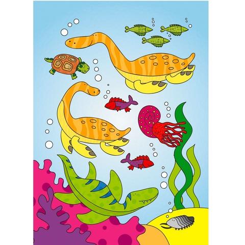 Водные раскраски