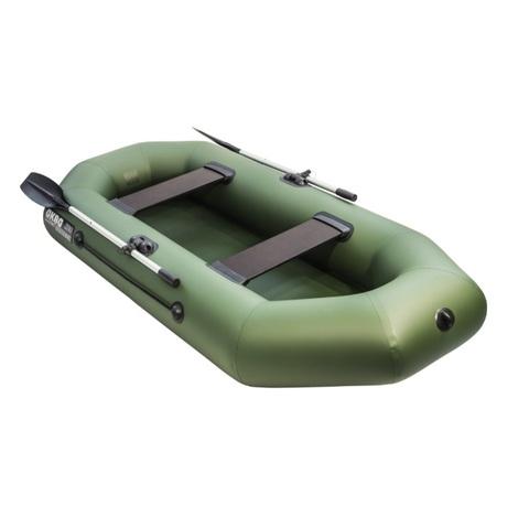 Лодка ПВХ АКВА-ОПТИМА 260 зеленый