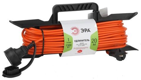 Удлинитель силовой Эра UFx-1гн 20м ПВС 2x0,75 б/з