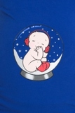 Лонгслив для беременных 07915 синий