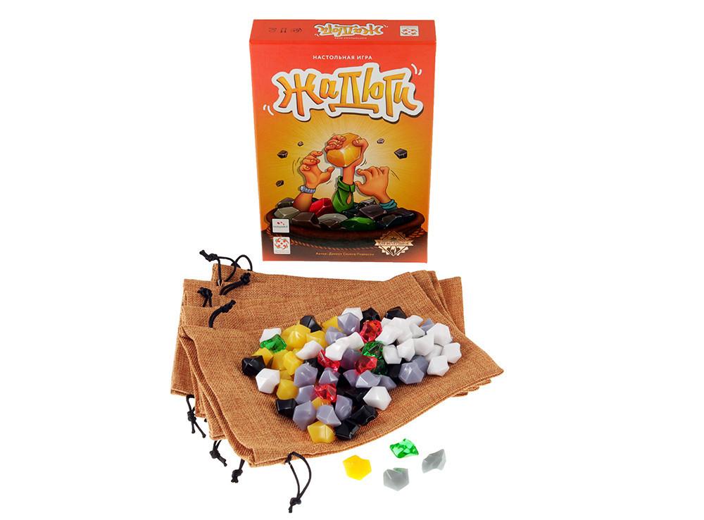 Настольная игра Жадюги: комплектация