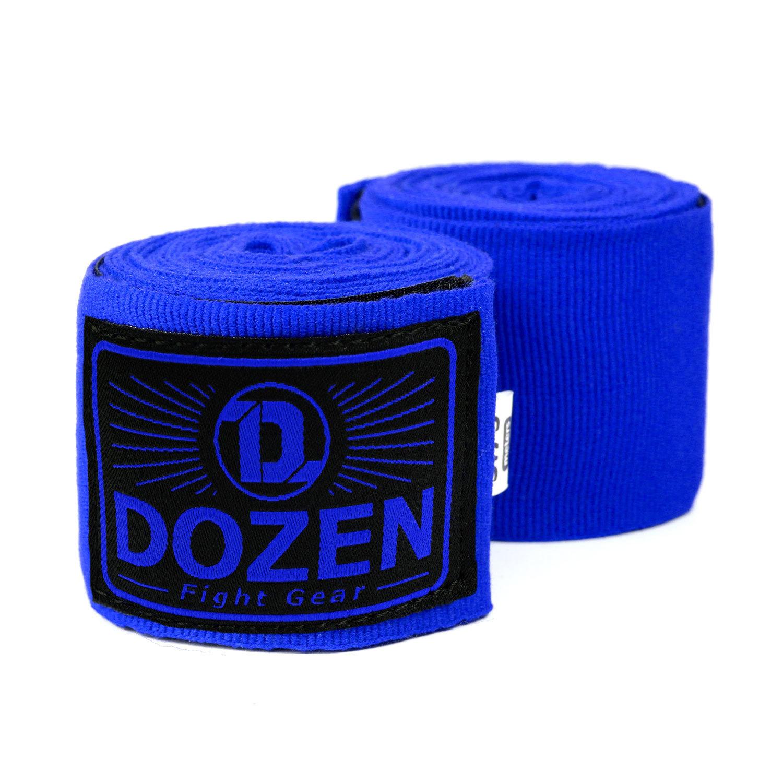 Бинты Dozen Monochrome Semi-elastic Total Blue главный вид