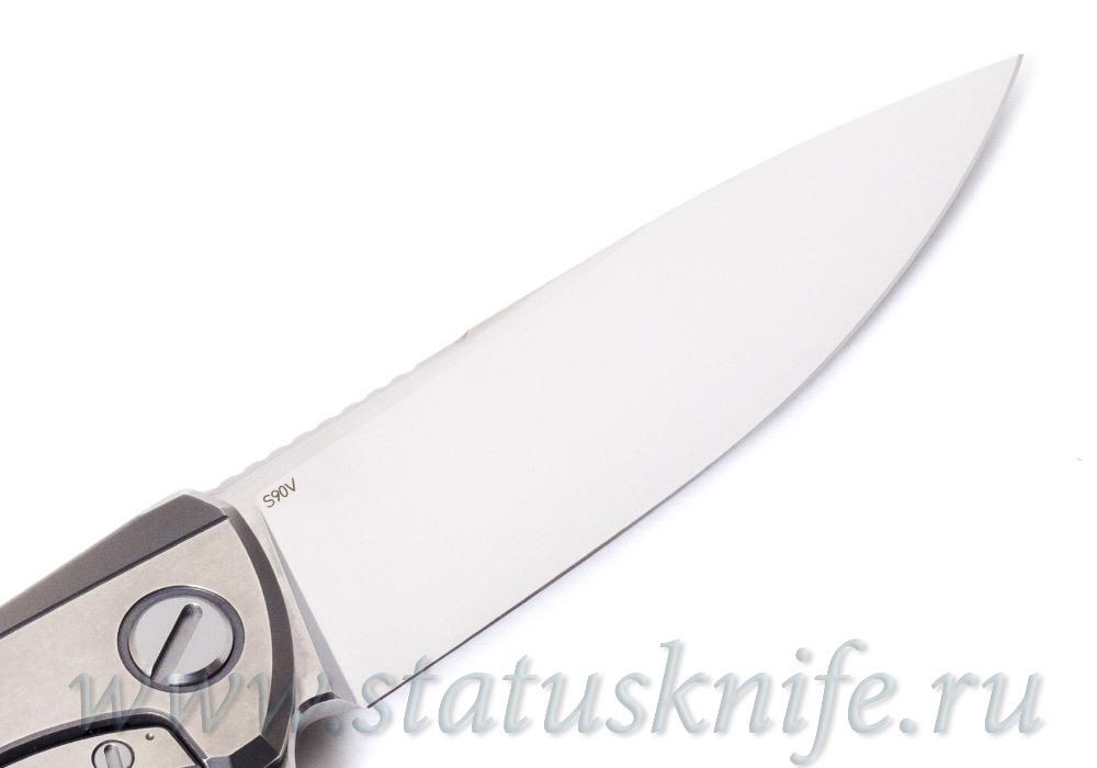 Нож Широгоров F95 Белый Тигр White Tiger Custom Division - фотография