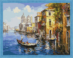 Aлмазная мозаика Путешествие по Венеции