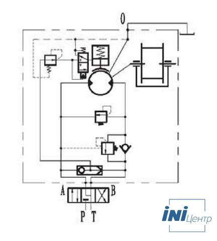 Стандартная лебедка IYJ34.54.5-100-115-26-ZPG