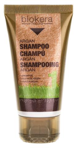 Шампунь с аргановым маслом,Champu argan,Biokera, 50 мл.