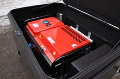 Всепогодный шумозащитный мини-контейнер для генератора, модель SB1200