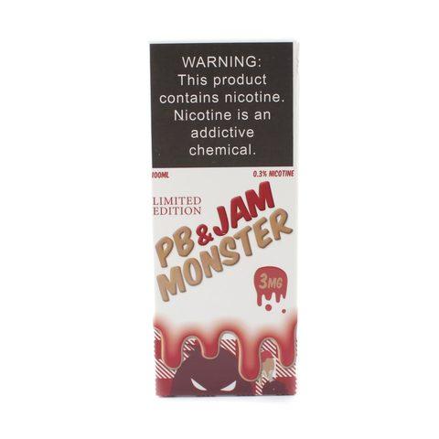 Жидкость Jam Monster PB & Strawberry