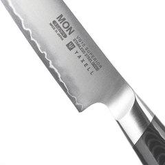 Нож кухонный для нарезки 15 см, сталь VG-10 в обкладке из нержавеющей стали, серия Mon, YA36316, YAXELL, Япония