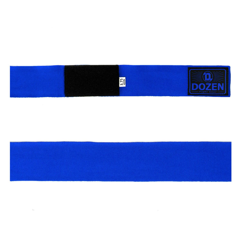 Бинты Dozen Monochrome Semi-elastic Total Blue вид ленты