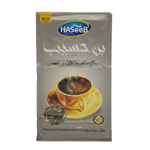 Арабский кофе с кардамоном premium Cardamon Хасиб HASEEB, 500 гр