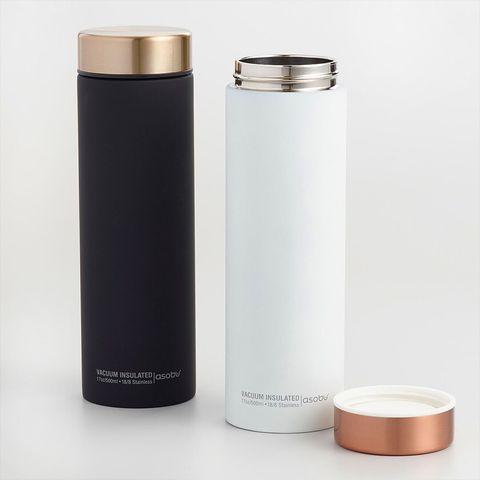 Термос Asobu Le Baton Travel (0,5 литра), белый/медный