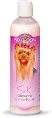 Кондиционер-ополаскиватель для блеска и гладкости шерсти для собак и кошек, Bio-Groom Silk Condition, 355 мл