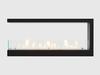 Встраиваемый торцевой биокамин LUX FIRE 1090S