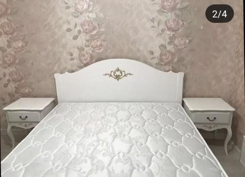Кровать двуспальная в стиле прованс