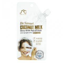 Маска-пленка Dr. Smart для лица с кокосовым молоком 25 гр