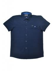 Трикотажная рубашка для мальчика из ткани пике (лакост) купить