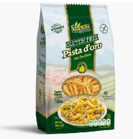 Макароны Pasta Doro Перья из кукуруз муки 500г