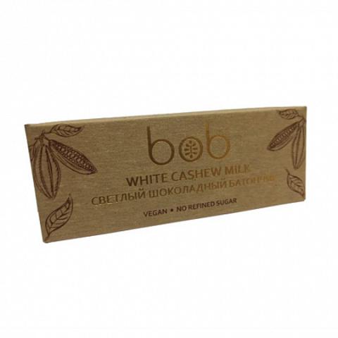 Bob светлый шоколадно-ореховый батончик