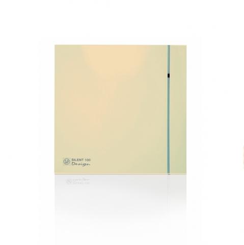 Накладной вентилятор Soler & Palau SILENT 100 CHZ DESIGN IVORY (датчик влажности)