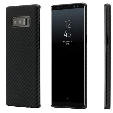 Чехол Pitaka MagCase Samsung Note 8 Black/Grey (Twill)