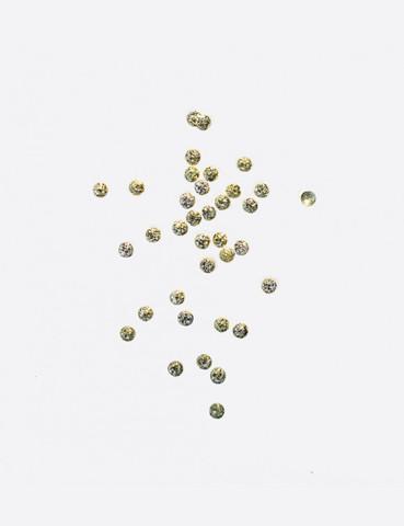 ARTEX Полусферы круглые полые шлифованные золото 1 мм