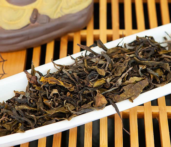 TEA-CH131 Шен Пуэр «Дикий» с горы Лао Цзюнь Шань (Юньнань, 50 гр) фото 04