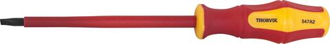 SDLI512 Отвертка стержневая диэлектрическая шлицевая VDE 1000V, SL5.5x125 мм