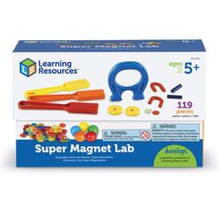LER2064 Набор Моя первая лаборатория. Магнитный супер сет Learning Resources