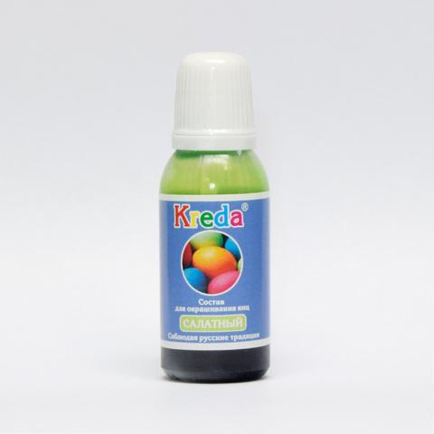 Краситель для яиц Kreda,салатный,20гр