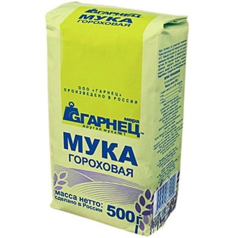 Мука Гарнец Гороховая (Пакет) 500г б/глютен