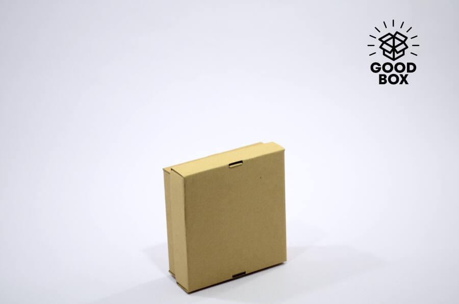 Коробка 150*150*50 бурая + бурое дно