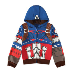 Толстовка с капюшоном Капитан Америка 2