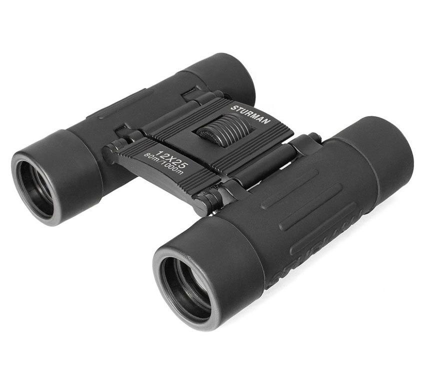 Бинокль Sturman 12x25 чёрный - фото