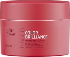 WELLA INVIGO COLOR BRILLIANCE Маска-уход для защиты цвета окрашенных нормальных и тонких волос 150 мл