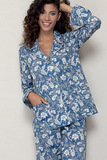 Женская пижама из хлопка B&B