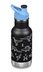 Детская термобутылка Klean Kanteen Insulated Kid Classic Sport 12oz (355 мл) Paper Dinos (PD)