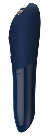 Синяя водонепроницаемая вибропуля We-Vibe Tango X