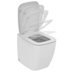 Унитаз напольный с сиденьем микролифт Ideal Standard VentUno T320101 фото