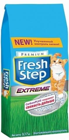 Fresh Step Extreme  впитывающий наполнитель, тройная защита 6 л  (3,17 кг)