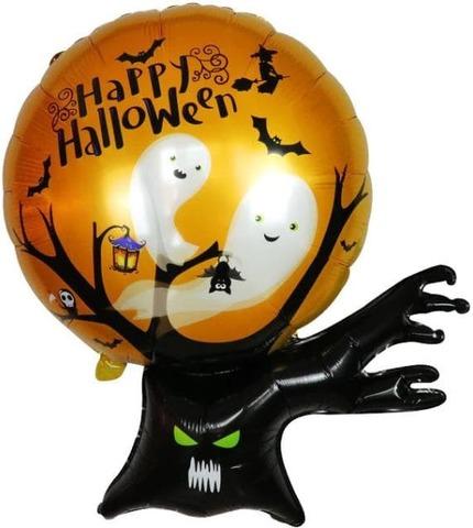 Фольгированный шар Дерево с привидениями