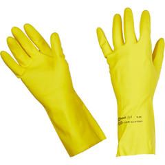 Перчатки латексные Vileda Professional Контракт желтые (размер 8.5-9, L, артикул производителя 101018)