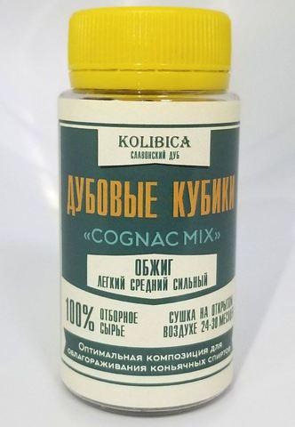 Кубики дубовые Cognac Mix на 10-40 л