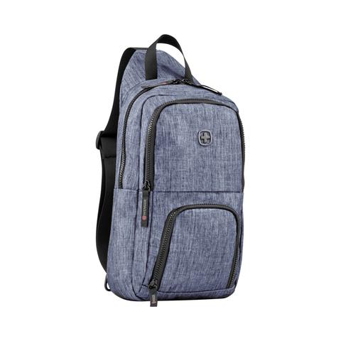 Рюкзак на одно плечо синий 8 л WENGER Console 605031