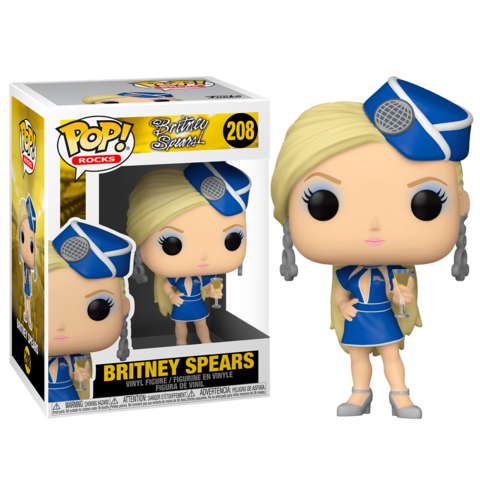 Funko POP! Rocks Britney Spears Stewardess    Бритни Спирс