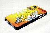 Чехол Tom and Jerry для iPhone 4, 4s (№4)